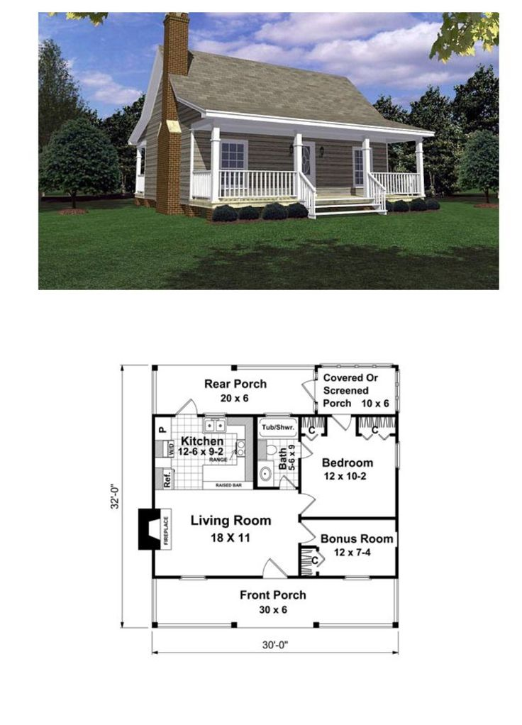 !!!...Love this little house but I would turn the bathroom into a laundry room and the bonus room into a bathroom.
