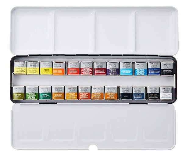 Winsor Newton Lightweight Metal Sketchers Box Winsor And