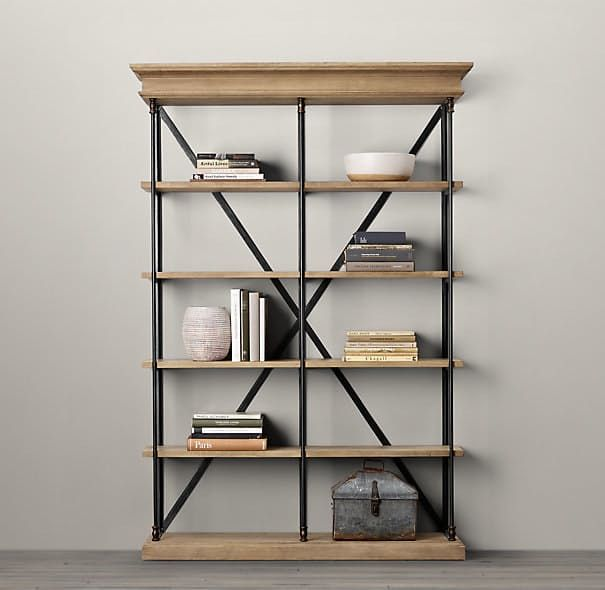 Best Bookcase Images On Pinterest Bookcases Crates And Cabinet - Wide bookshelves