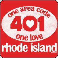 """401"" (the telephone area code for rhode island) #RI #RhodeIsland"