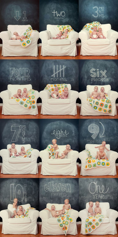 Criando múltiples: Preciosa idea para el primer año