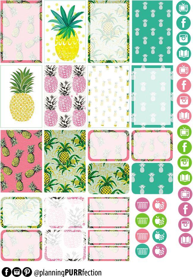 FREE Pineapple Dream Printable