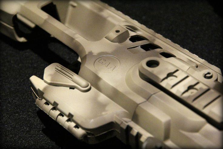 Freehand Sprayed Camouflage Pattern Using Cerakote Gun