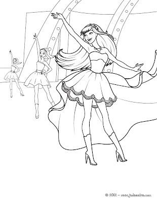 Tori Disguised As Keira Barbie Printable You Can Choose A Nice From THE PRINCESS POPSTAR Coloring Pages For Kids