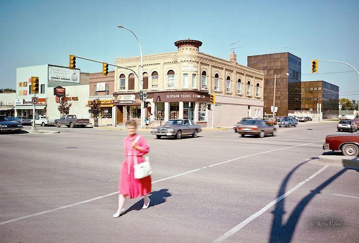 Oldmahn Studio, Portage La Prairie, MB, 1987