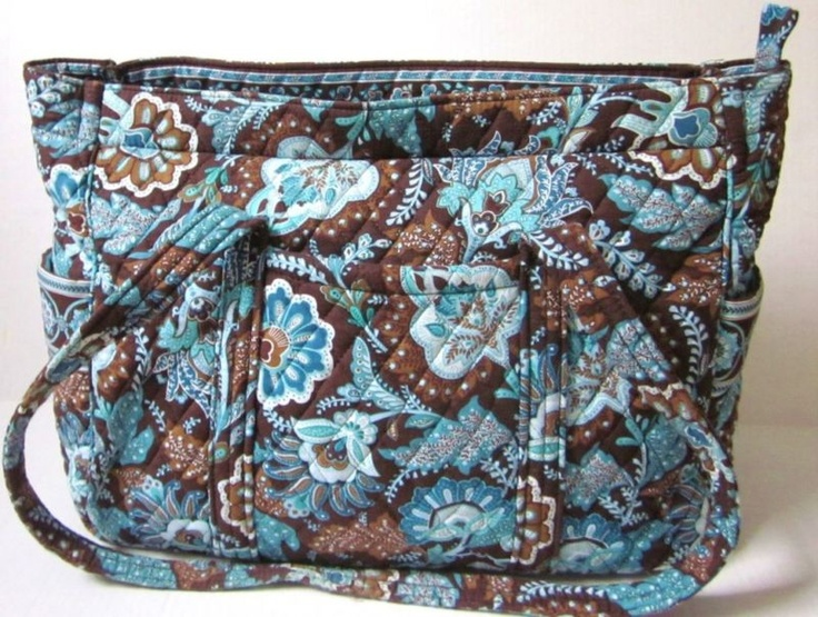 vera bradley java blue diaper bag tote purse colors the o 39 jays and bags. Black Bedroom Furniture Sets. Home Design Ideas