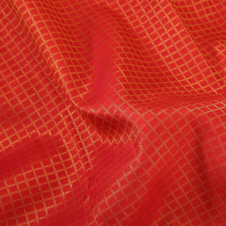 Kanakavalli Kanjivaram Silk Sari 060-01-18834 - Fabric View