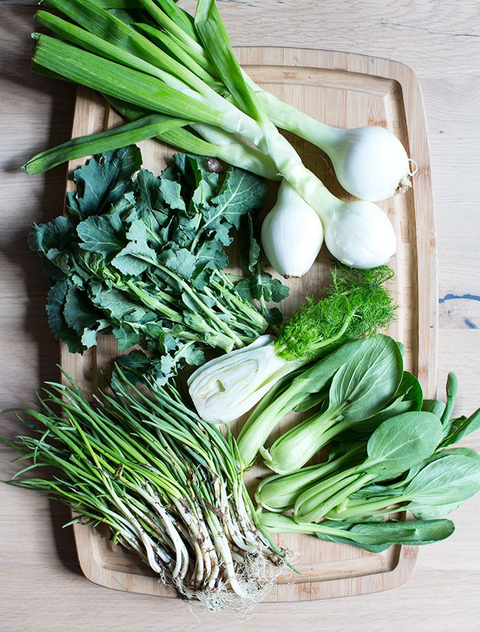 spring vegetable minestrone + wild ramp pesto | what's cooking good looking