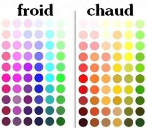 Pour vous y retrouver : les tons froids ont tous une dominante bleutée. Les tons chauds ont tous, une dominante jaune. Exit le rose sur le nuancier !!!
