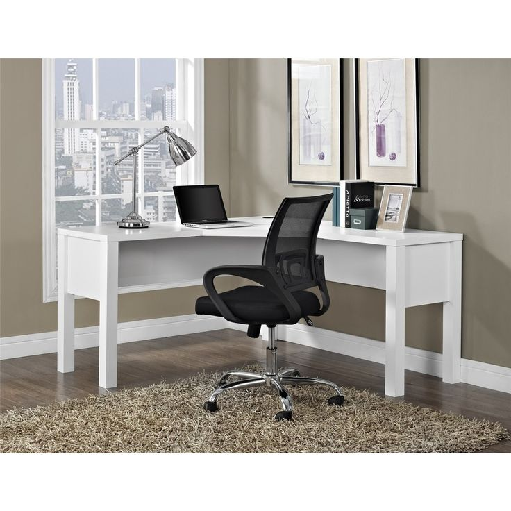 avenue greene princeton white u0027lu0027 desk by avenue greene