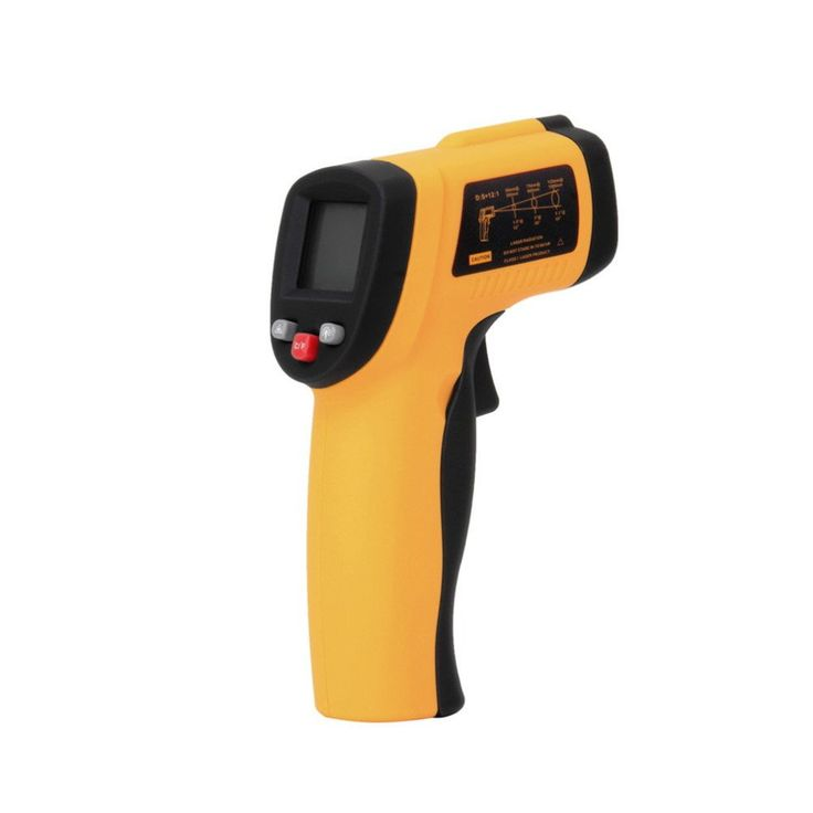 Electronic Digital Laser Infrared Thermometer Gun Non-Contact -50 To 550 degree LCD Back IR Temperature Measurement