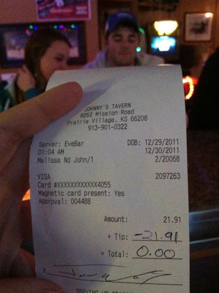 bad waiter/waitress? solution.