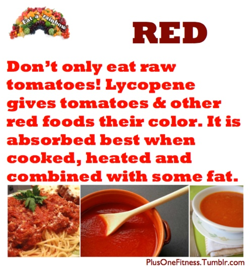 Tomatoes can be better absorbed when cooked, heated and combined with some fat! #TomatoWellness #DYK