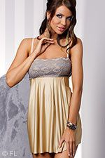 Honey Luxe Babydoll with Thong