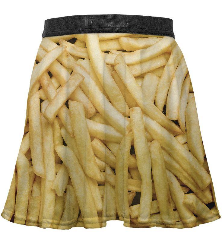 Fries circle skirt for kids, Mr. GUGU & Miss GO
