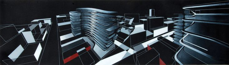 Inside Zaha Hadid's Sketchbook