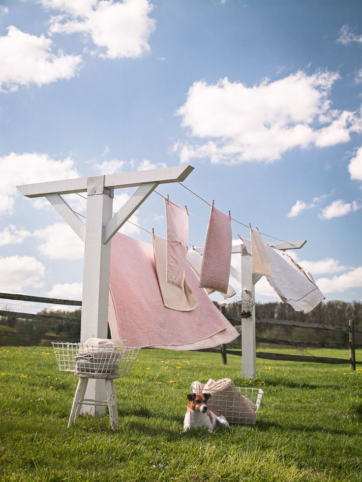 I miss the smell of laundry dried on the clothesline.