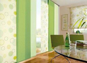 Японские шторы панели в интерьере жилья - СОСЕД-ДОМОСЕД