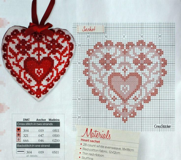 246 Best Images About Cross Stitch Hearts And Valentines