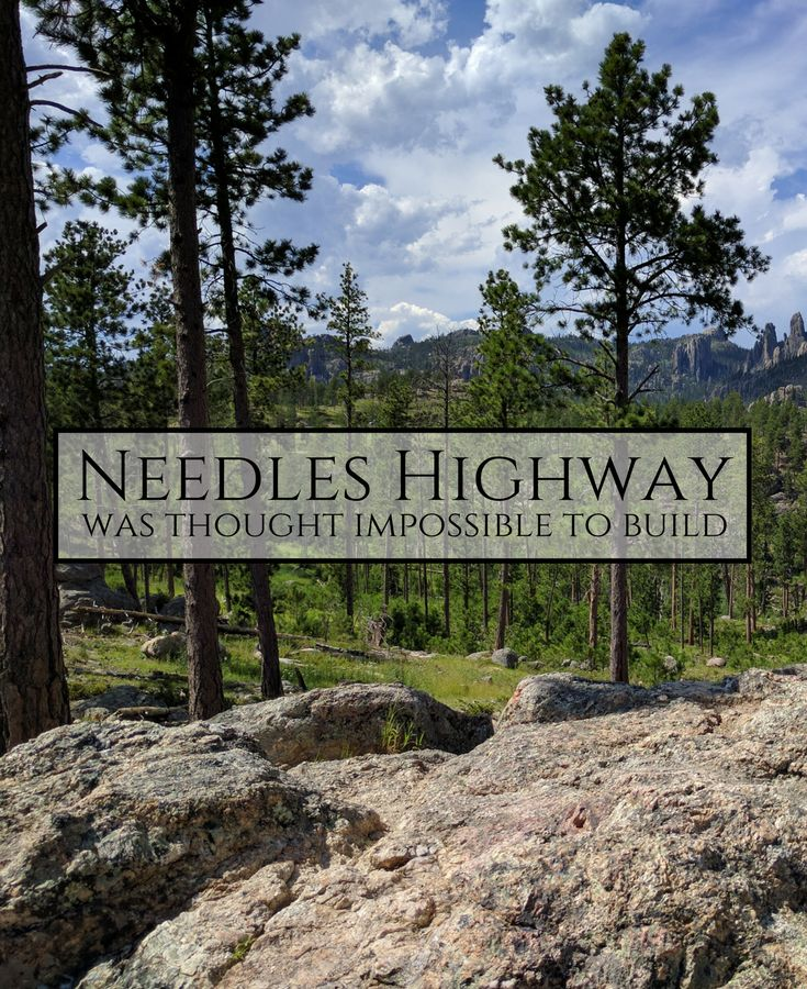 The iconic Needles Highway was thought impossible to build | 14 miles of white-knuckle turns on this scenic route