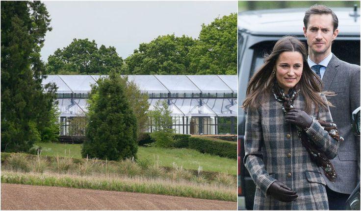 Bespoke orangery 'costing £100,000' installed in garden of Pippa Middleton's family home