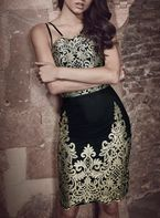 Womens *Chi Chi London Multi Coloured Bodycon Dress- Multi