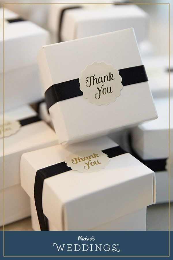 Make this wedding favor box project it