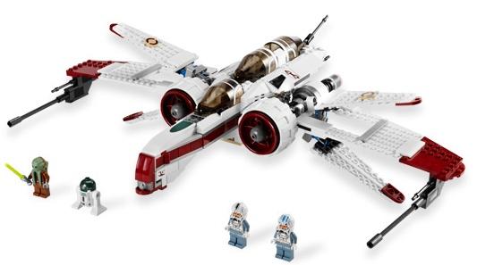 LEGO Star Wars Set #8088 ARC-170 Starfighter