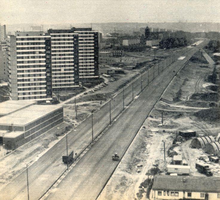 Kačerov - úsek z Kačerova k Pankráci - Květy 3.6.1972