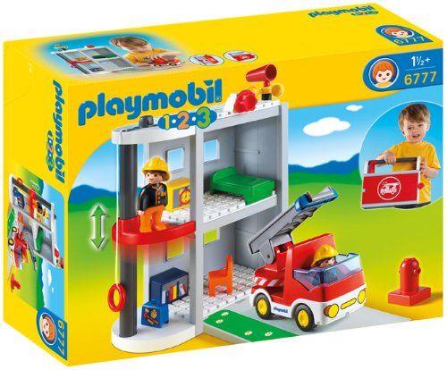 Playmobil - 6777 - Jeu de Construction - Caserne de Pompiers Playmobil http://www.amazon.fr/dp/B0077QT11O/ref=cm_sw_r_pi_dp_N6aXtb0AFJJS10NS