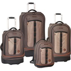 Father's Day Special  luggage  Father's Day Special Timberland Jay Peak 4 Piece Luggage Set Now Only $233.37 Org. 1,240.00 Plus Free Shipping Use Promo Code TBJP  http://www.planetgoldilocks.com/handbags_luggage.htm Father's Day Sale! #couponcode #luggage #fathersday