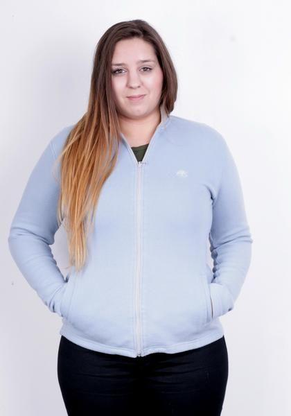 Timberland Mens M Jumper Full Zipper Blue Sweater Cotton - RetrospectClothes