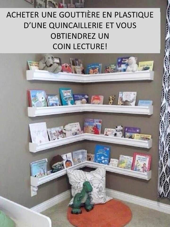 Une bibliothèque qui met en valeur les livres - Le coffre de crapi, zil
