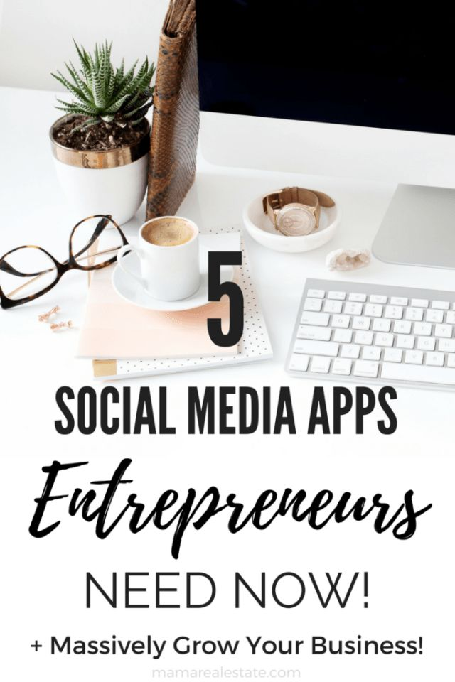 The new age entrepreneur is savvy and knows how to use social media to his or her advantage. Check out these 5 apps that will massively grow your business!