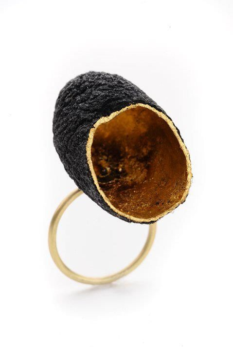 Cocoon ring Dinah Lee Contemporary Jewelry