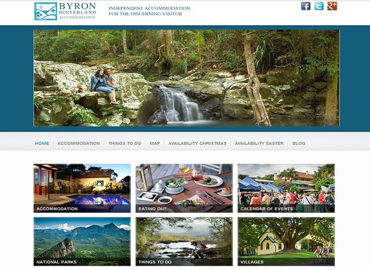 Group of Accommodation for the Byron Bay area, website portal and local tourism info.…