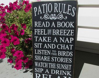 Delightful Best 25+ Porch Rules Sign Ideas On Pinterest | Porch Signs, Rustic Deck And  Front Porch Signs