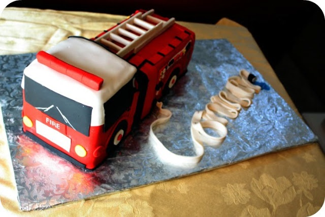 """Fire Engine Cake: Vegan Carrot Cake with Chai """"Buttercream"""" icing ..."""