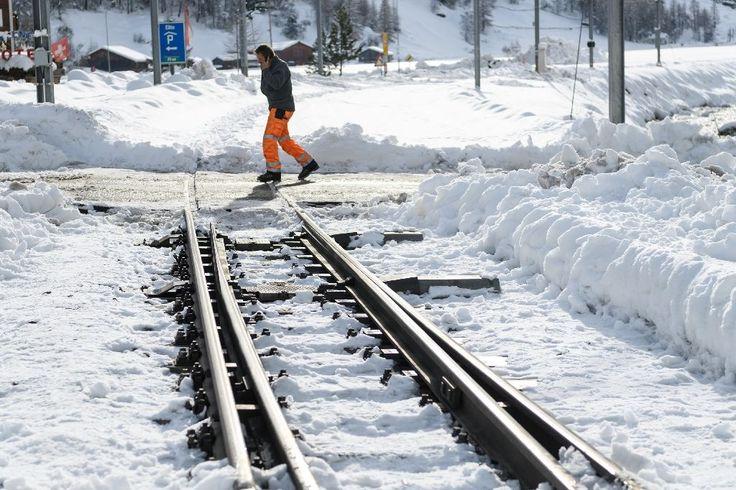 ICYMI: Trains resume service in snowbound Swiss ski resort