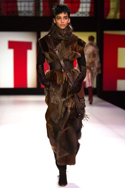 Jean Paul Gaultier - www.vogue.co.uk/fashion/autumn-winter-2013/ready-to-wear/jean-paul-gaultier/full-length-photos/gallery/948280