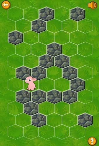 Block The Pig Game at Cool Math Games: The pig is on the loose! Help  prevent him from escaping by placing stone walls to block his path.