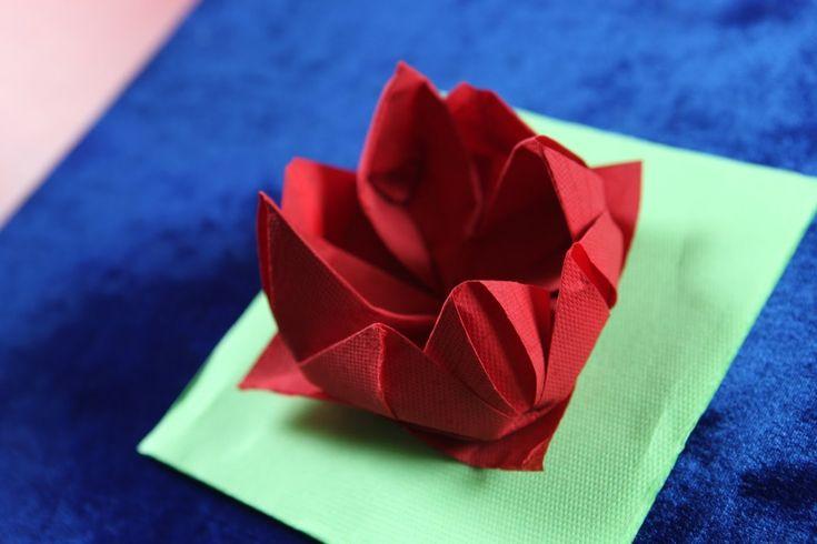 76 Best Images About Napkin Folding On Pinterest Dinner