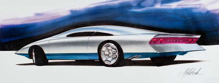 David McIntosh's career at General Motors Design spanned nearly forty years, from 1964 to 2003.