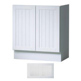 Insignia Providence Satin White Transitional Bathroom Vanity (Common: 30-in x 21-in; Actual: 30-in x 21-in)