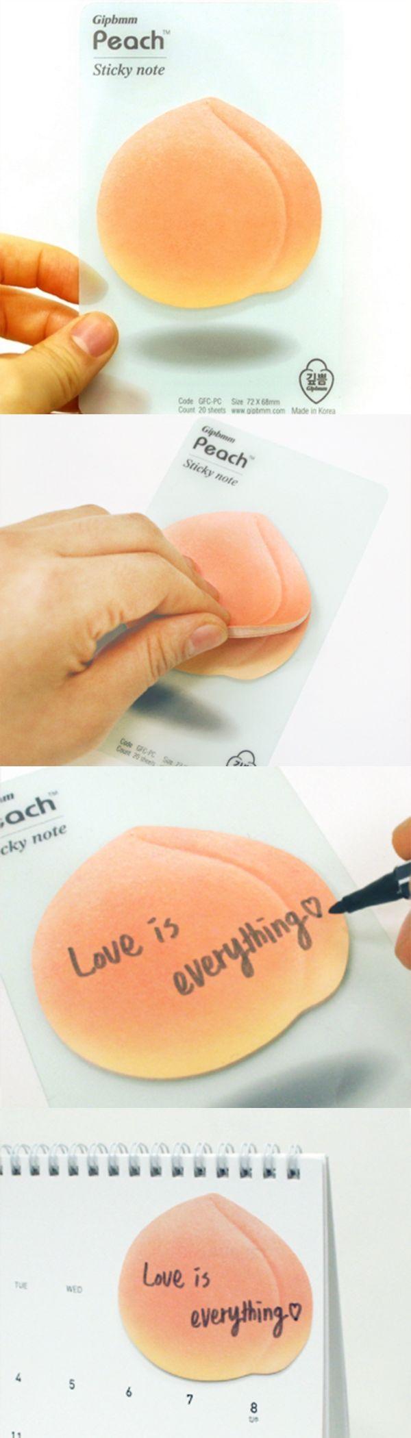 Delicious! Peach Sticky Note v2