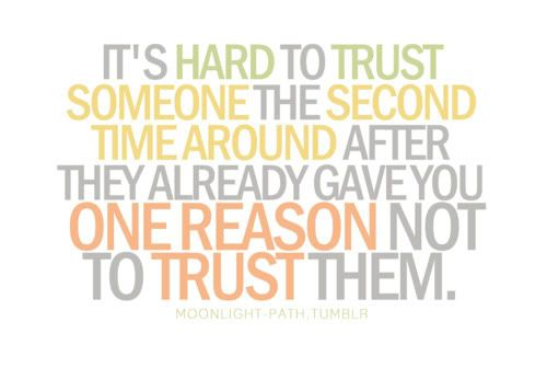 how to build trust in a relationship after lying