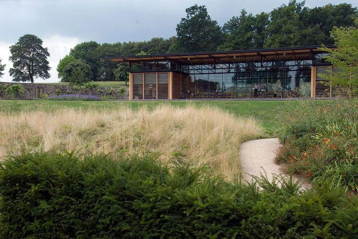 Broughton Hall Walled Garden Yorkshire Pavilion Michael Hopkins Architecture Dan Pearson