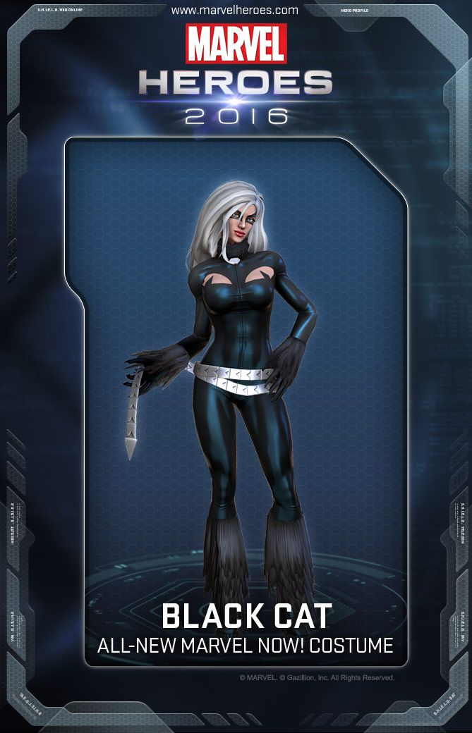 Image result for black cat marvel heroes costume
