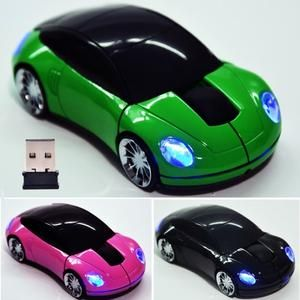 2.4G Wireless Car Shaped Optical Mouse