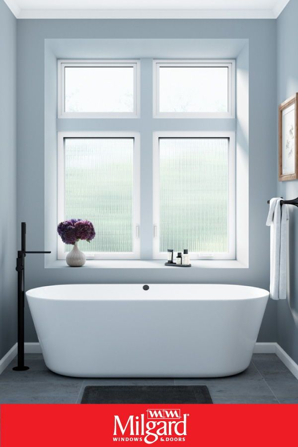 Looking To Remodel Your Master Bath Consider Using Windows For Bathrooms With Privacy Glass This Is Bathroom Windows Small Bathroom Remodel Bathrooms Remodel